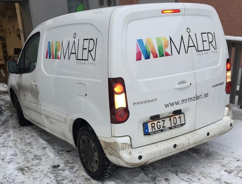 MR Måleri Montage Bildekor BIldekaler Stockholm