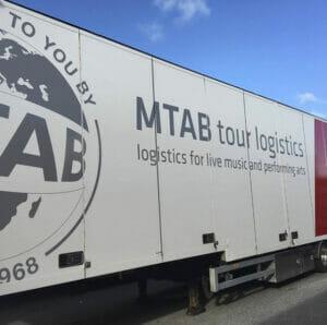MTAB Tralier Montage Dekor Lastbil Stockholm